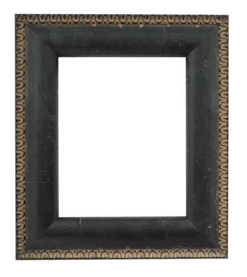 reverse black mirror frame