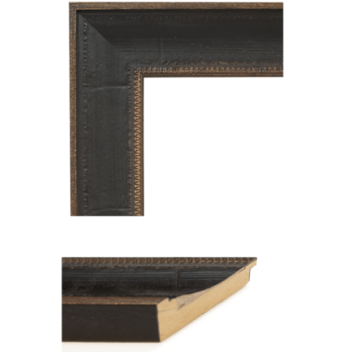 4027 Distressed Brown Mirror Frame Sample