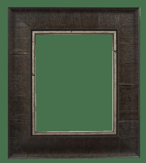 pewter burl mirror frame