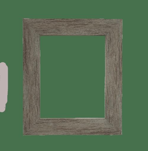 grey mirror frame