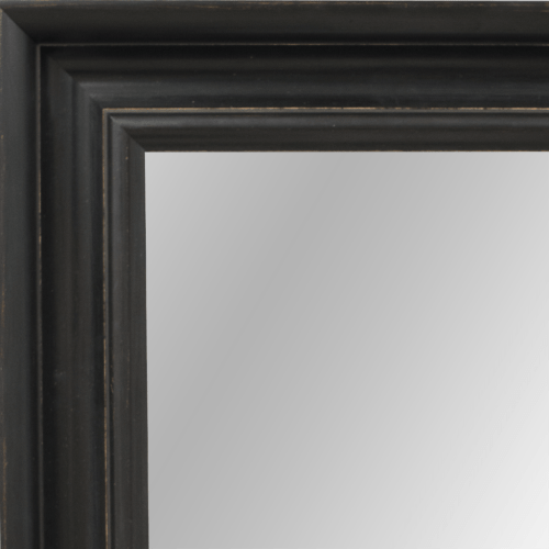 4048 Wide Brack Framed Mirror