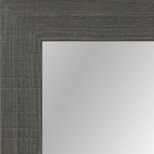 4063 Grey Oakwood Framed Mirror