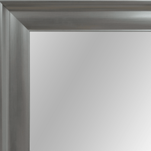 4079 Silver Framed Mirror
