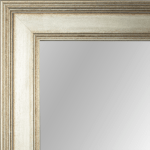 4107 Antique Silver Framed Mirror