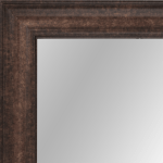 4130 Dark Burnished Gold Framed Mirror