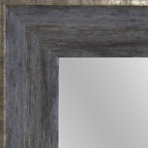 4140 Charred Framed Mirror