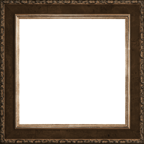 pumpernickel mirror frame