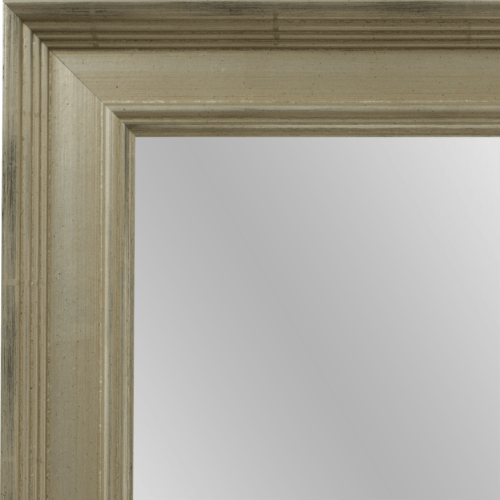4045 Classic Silver Framed Mirror