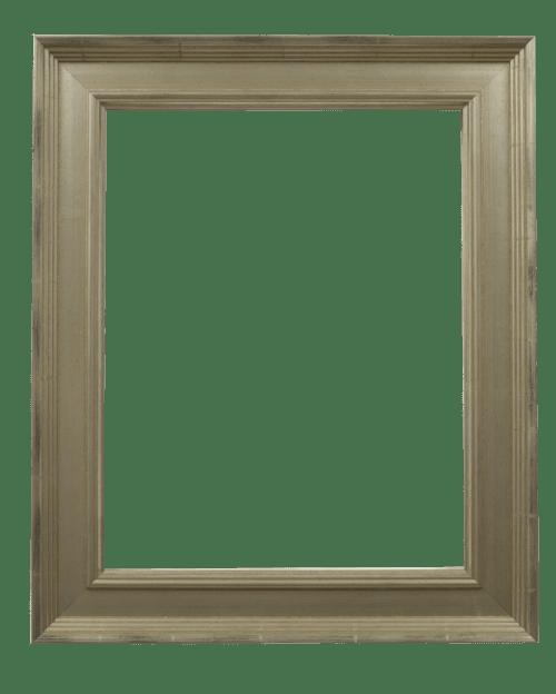 Classic silver mirror frame