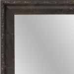 4110 Walnut Ebony Framed Mirror