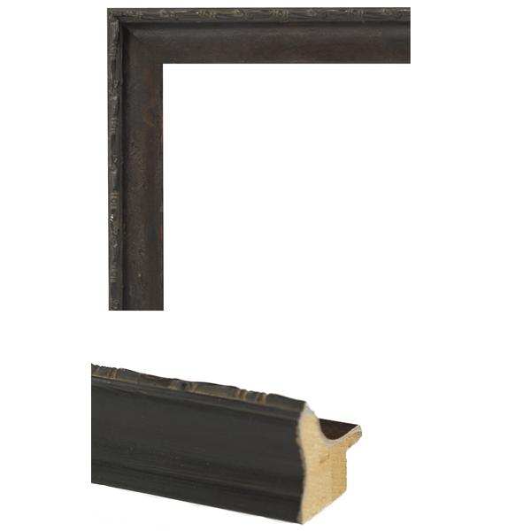 dark walnut distressed mirror frame samples