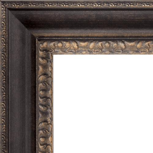 1600 Bronzed Mirror Frame