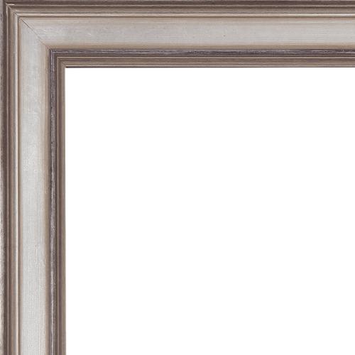 2376 Antiqued Champagne Mirror Frame