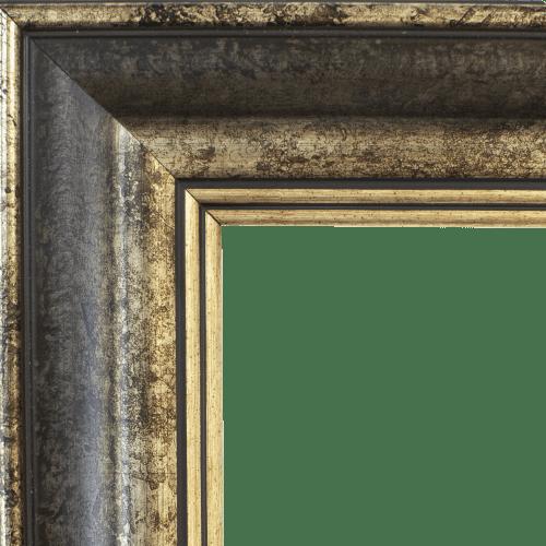 4148 Spanish Tea Stone Mirror Frame
