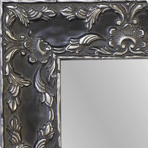Renaissance Pewter Mirror Frame