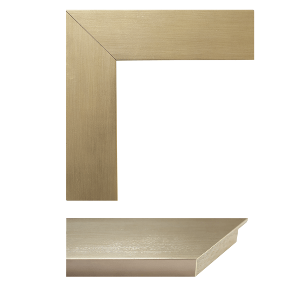 millennial gold mirror frame samples