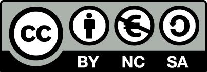Icon CC BY NC SA EUR