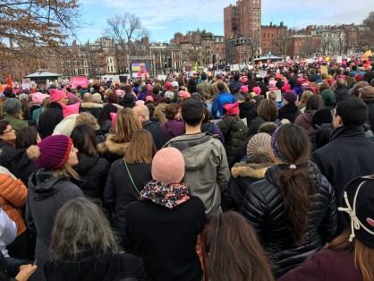 Boston Women March
