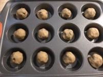 chocolate chip cookies muffin tin