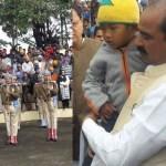 उत्तराखंड – पुलवामा हमले में शहीद सैनिक का अंतिम संस्कार, 4 साल के बेटे ने दी चिता को आग