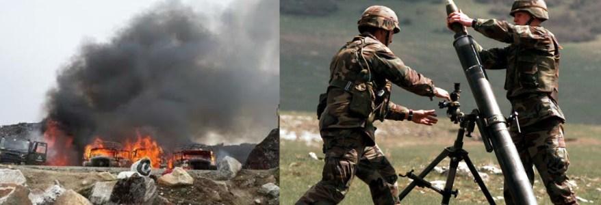 ब्रेकिंग न्यूज : सीमा पर पाकिस्तान की कई पोस्ट तबाह, सैनिक भी मारे गए,  पाक गोलाबारी का मुंहतोड़ जवाब दे रहे हैं सुरक्षा बल