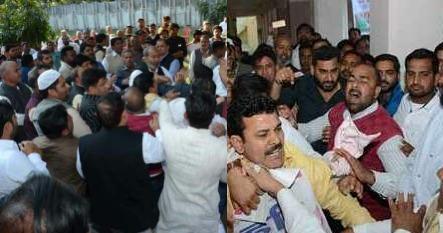 उत्तराखंड : बैठक में कांग्रेसियों में जमकर मारपीट, लोकसभा प्रत्याशी चुनने के लिए बुलाई गई थी बैठक