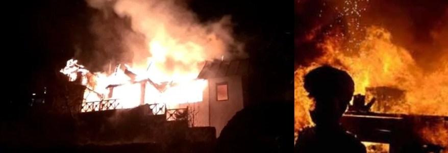 नैनीताल के प्रसिद्ध होटल में लगी भीषण आग, पूरे शहर में अफरा-तफरी
