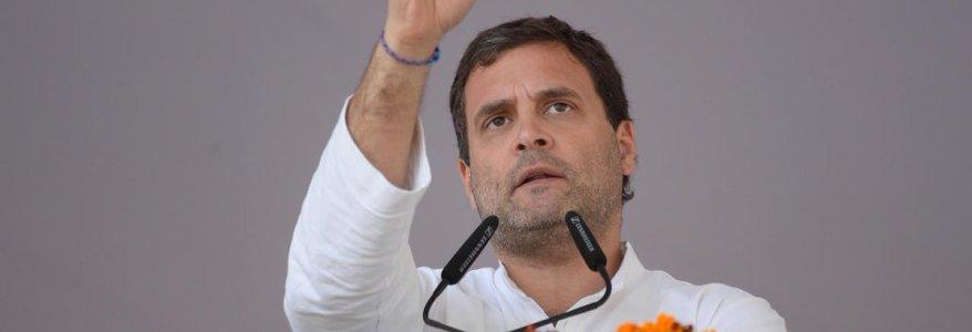 उत्तराखंड : राहुल गांधी ने देहरादून रैली में 'चौकीदार ही चोर है' के नारे लगाए