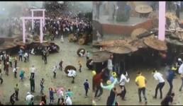 उत्तराखंड : सैकड़ों लोगों ने एक-दूसरे को पत्थर मार एक व्यक्ति जितना खून बहाया, 120 लोग घायल