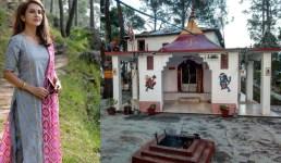 Uttarakhand अभिनेत्री रुप दुर्गापाल ने बताया अल्मोड़ा के डोलीडाना मंदिर के बारे में, पढ़िए पूरी खबर