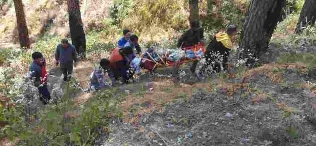 Uttarakhand कार गिरने से 3 युवकों की मौत, शादी से लौट रहे थे सभी, 3 दिन बाद पता चला
