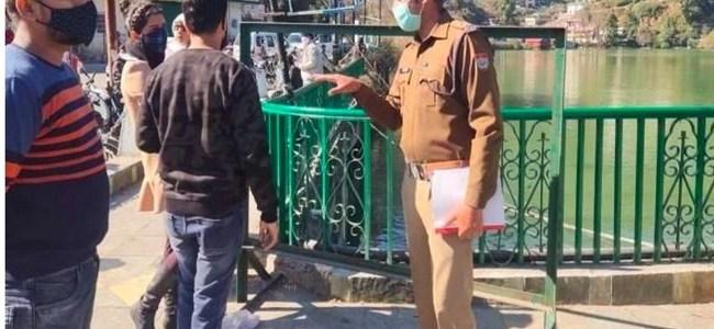 Uttarakhand दिल्ली से आयी महिला पर्यटक ने पुलिस को धमकाया, बोली मास्क नहीं पहनुंगी, फिर क्या हुआ पढ़ें