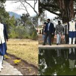 Uttarakhand यहां थानों में बन रहे हैं ईको पार्क, मुुख्यमंत्री ने ऐसे ही एक पार्क का भ्रमण किया