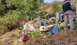 Uttarakhand पिथौरागढ़ से पेंशन ले जा रहे पेंशनरों का वाहन दुर्घटनाग्रस्त, 5 की मौत और 6 लोग घायल