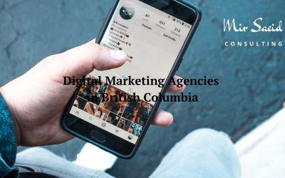 Top 10 Digital Marketing Agencies in British Columbia
