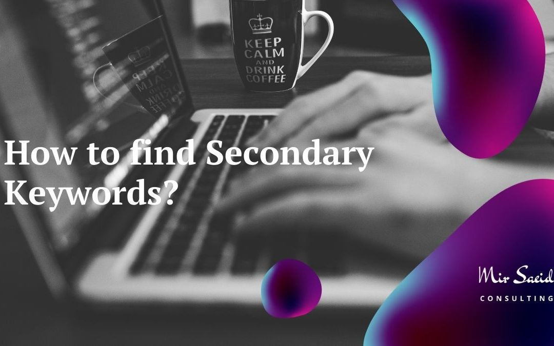 How to Find Secondary Keywords