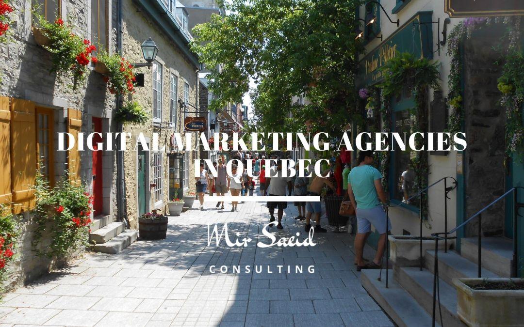 Top Digital Marketing Agencies In Qubec