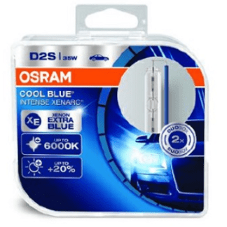 Лампа ксеноновая OSRAM Xenarc Cool Blue Intense D2S 85V 35W 2шт. 66240CBI-HCB
