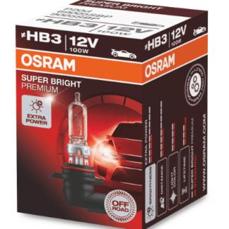 Лампа OSRAM Super Bright Premium HB3 12V 100W 1шт. 69005SBP