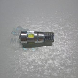 Лампа габаритная T10 6SMD Canbus с линзой