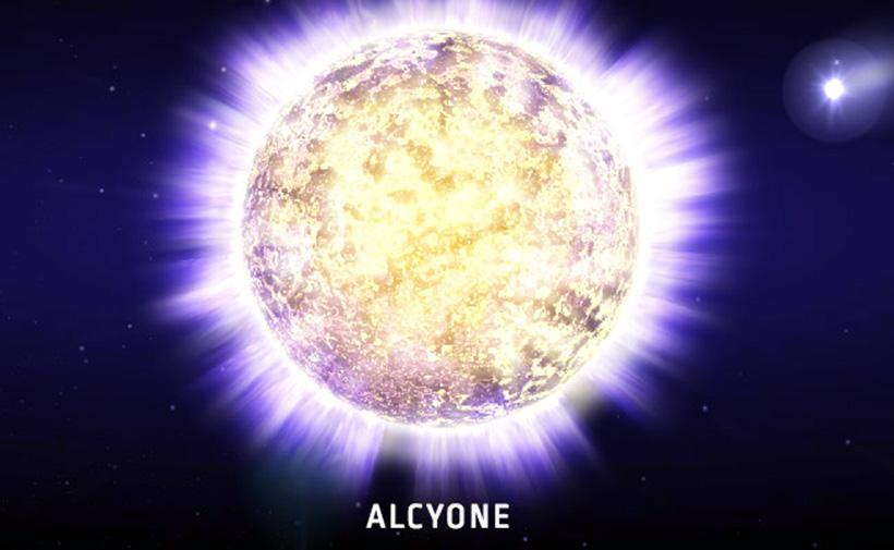 Звезда Алкион (Alcyone)