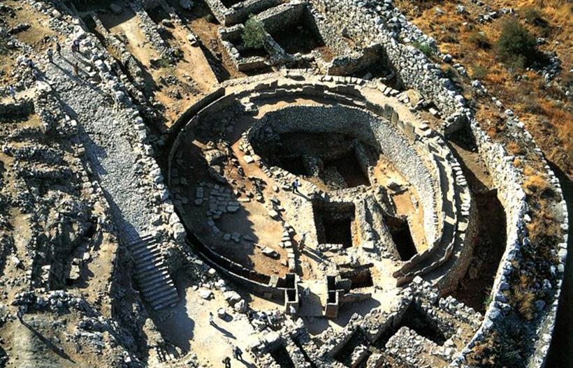 Шахтовые гробницы в Микенах