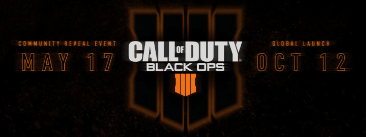Call of Duty: Black Ops 4 Release Date Announced