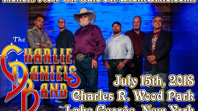 Charlie Daniels Band To Play Lake George, New York