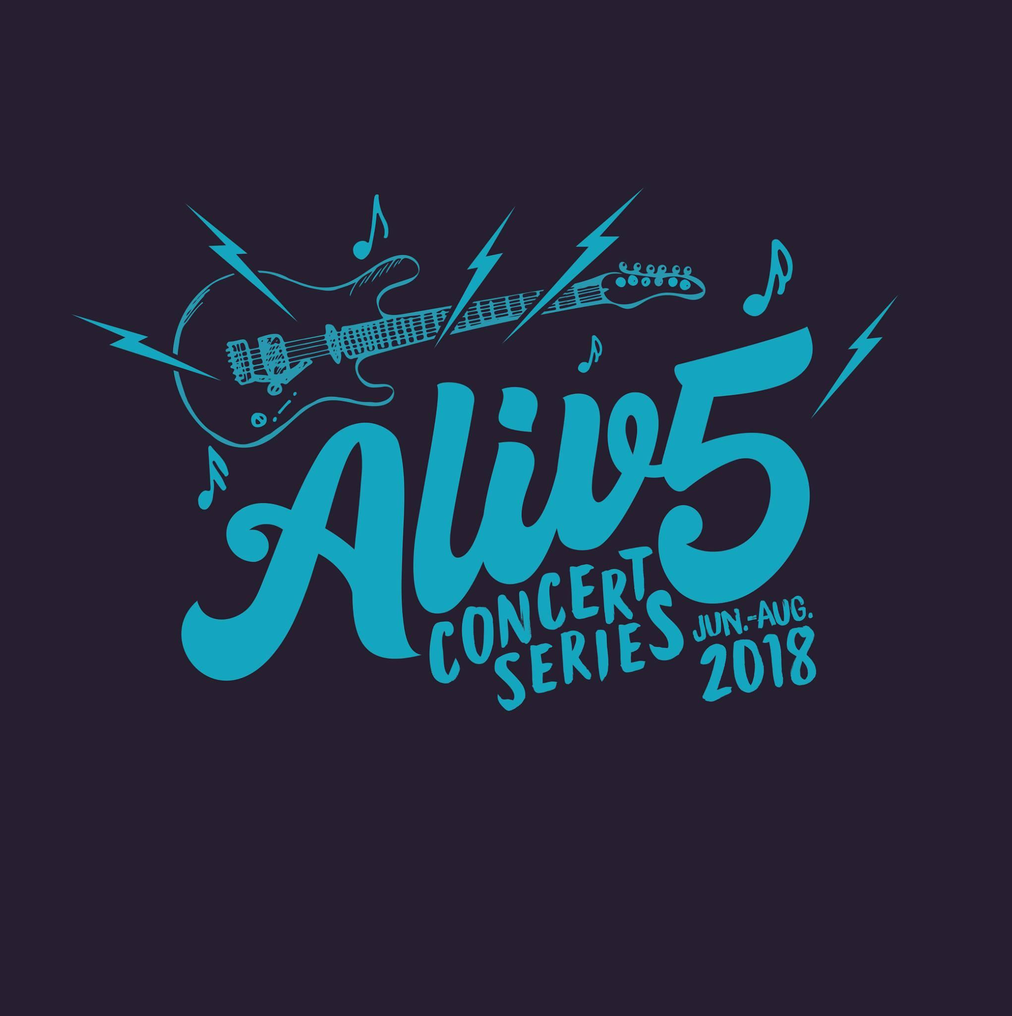 Alive at Five Concert Series Schedule