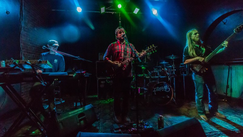 Formula 5 Celebrates Band Members' Birthday with Show at The Hollow
