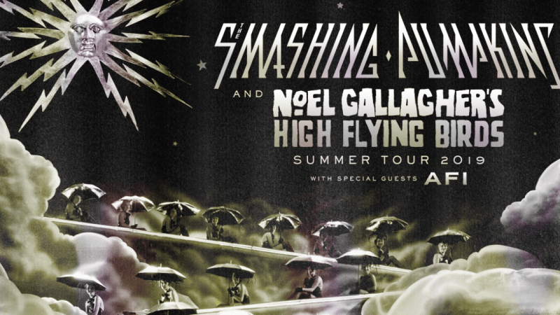 The Smashing Pumpkins and Noel Gallagher's High Flying Birds Plan 2019 Summer Tour