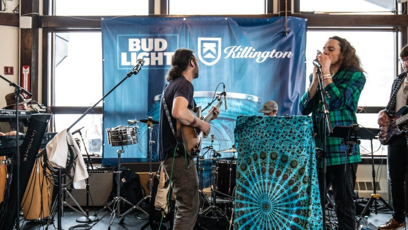 GALLERY: Annie in the Water Plays Standout Set in Killington, VT