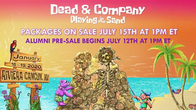 Dead & Company Shares 2020 Playing In The Sand Dates