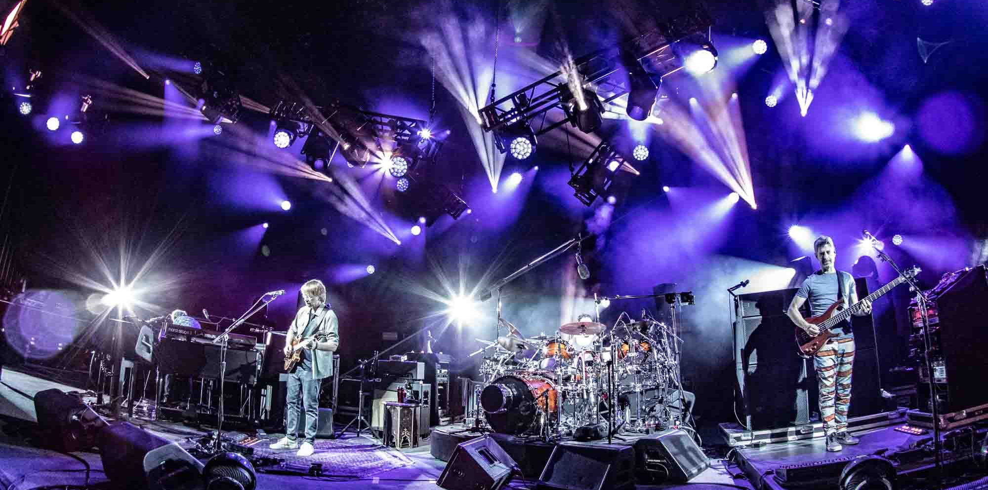 Phish Brings Bustouts and Extensive Jams to SPAC on Night 1